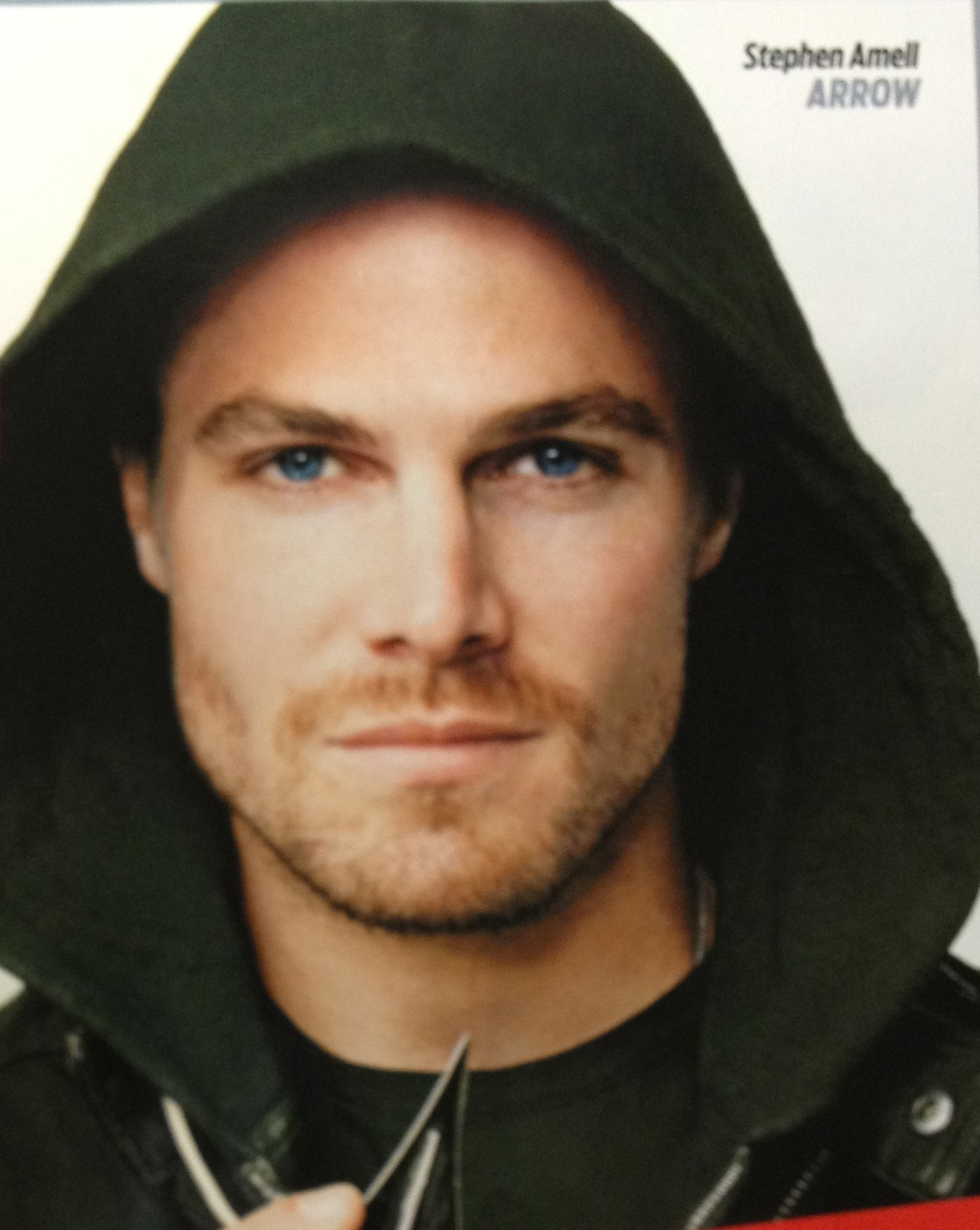 Cover: Stephen Amell of Arrow -- The show I'm most looking forward to this fall!